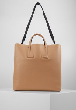 Lacoste - Shopping Bag - capuccino/noir