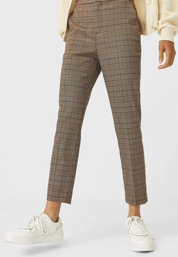Stradivarius - Pantaloni - dark brown