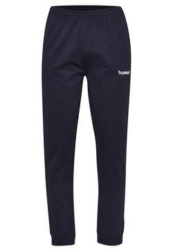 Hummel - HMLGO - Spodnie treningowe - marine