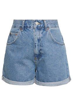 BDG Urban Outfitters - ROLLED MOM SHORT - Jeansshort - dark vintage