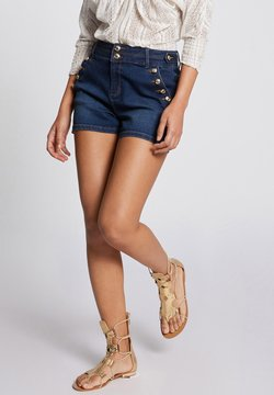 Morgan - Jeans Shorts - blue denim
