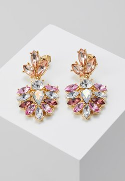 Pieces - PCBEL EARRINGS - Earrings - gold-coloured/pink