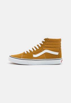 Vans - SK8-HI UNISEX - Sneakers alte - golden brown/true white