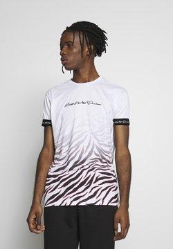 Kings Will Dream - KAYDON WITH FADE ZEBRA - T-Shirt print - white
