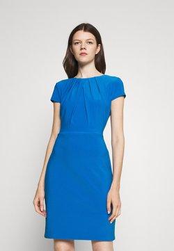 Lauren Ralph Lauren - BRENDA SHORT SLEEVE DAY DRESS - Kotelomekko - deep bondi blue