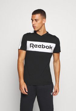 Reebok - GRAPHIC TEE - Camiseta estampada - black
