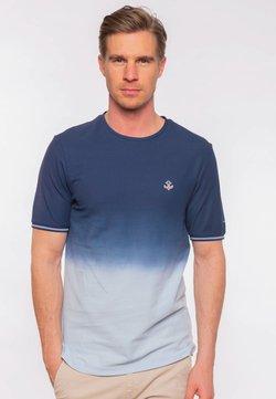 Colours & Sons - RONNY  - T-Shirt print - blue