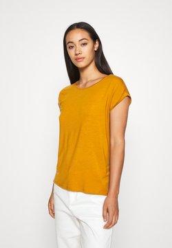 Vero Moda - VMAVA PLAIN - Camiseta básica - buckthorn brown
