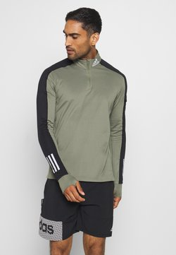 adidas Performance - RESPONSE SPORTS RUNNING - Camiseta de deporte - green