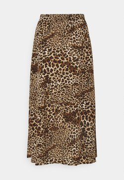 b.young - BXJANI SKIRT - A-Linien-Rock - brown