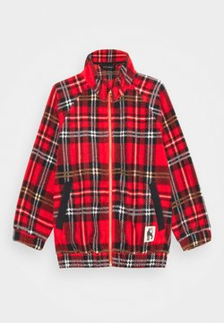 Mini Rodini - BABY CHECK JACKET UNISEX - Jas - red