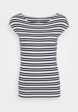 GAP - BATEAU - T-Shirt print - navy stripe