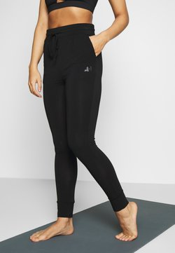 Curare Yogawear - LONG PANTS - Tights - black