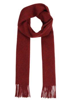 Sätila - MIT SCHÖNEN FRANSEN - Schal - vintage red