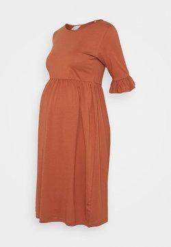 MAMALICIOUS - MLHAZEL DRESS - Robe en jersey - copper brown
