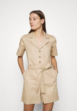 Selected Femme - SLFWAVE PLAYSUIT - Combinaison - curds and whey