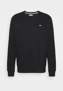 Tommy Jeans - REGULAR CNECK - Sweatshirt - black