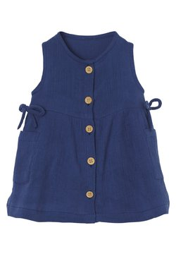 Vertbaudet - Jerseykleid - blau