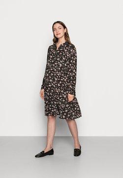 MAMALICIOUS - MLSEVDA DRESS - Jerseykleid - black/flower
