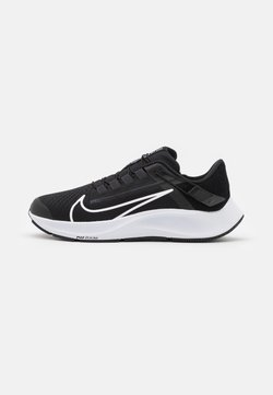 Nike Performance - AIR ZOOM PEGASUS 38 FLYEASE - Neutrala löparskor - black/white/anthracite/volt