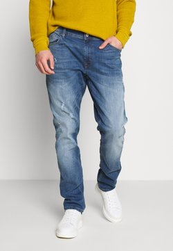 CELIO - ROPATCH - Slim fit jeans - blue