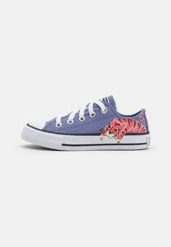 Converse - CHUCK TAYLOR ALL STAR JUNGLE CATS UNISEX - Sneakers - slate lilac/white/pink salt