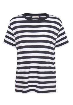 Marc O'Polo - SHORT SLEEVE ROUND NECK - T-Shirt basic - multi/silent sea