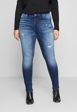 ONLY Carmakoma - CARCARMA  - Jeans Skinny Fit - medium blue denim