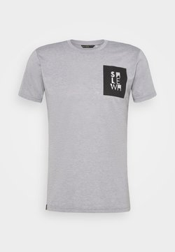 Salewa - NIDABA DRY TEE - T-Shirt print - heather grey