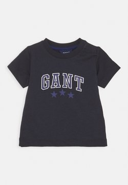 GANT - VARSITY  - T-shirt print - evening blue
