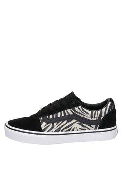Vans - WARD ZEBRA - Sneaker low - zwart