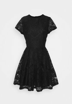 WAL G. - STACEY SKATER DRESS - Etuikleid - black