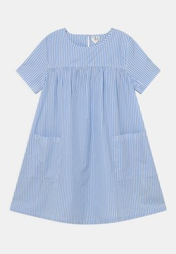 ARKET - DRESS - Freizeitkleid - blue/white