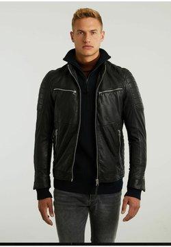 CHASIN' - Leren jas - black