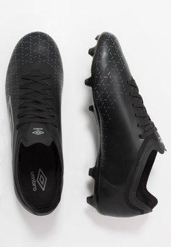 Umbro - VELOCITA V PREMIER FG - Moulded stud football boots - black/carbon
