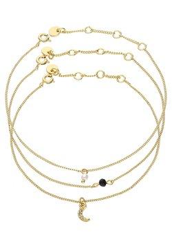 Six - SET - Bracelet - goldfarben