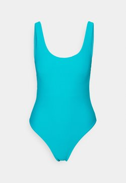 Seafolly - ESSENTIALS RETRO TANK MAILLOT - Swimsuit - scubablue