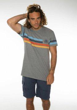 Protest - ALMONDO  - T-Shirt print - dark grey melee