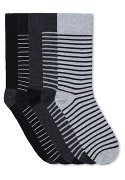 WE Fashion - 5 PACK - Socken - grey