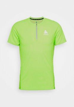 ODLO - AXALP TRAIL ZIP - T-Shirt print - lounge lizard