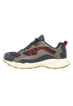 The North Face - M ARCHIVE TRAIL KUNA CREST - Sneaker low - urban navy/burnt olve grn