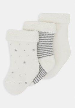 Petit Bateau - PAIRES CHAUSSETTE 3 PACK - Socken - white