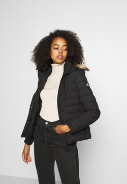 Superdry - CLASSIC FUJI JACKET - Winterjacke - black