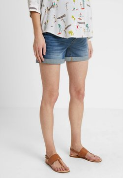 Forever Fit - ROLL UP - Shorts vaqueros - blue