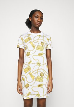 Versace Jeans Couture - DRESS - Jerseykleid - white