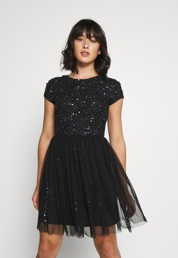 Lace & Beads Petite - NESSIA - Cocktailkleid/festliches Kleid - black iridescent
