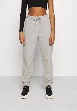 Monki - FANNY TROUSERS - Jogginghose - grey