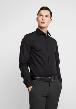 Seidensticker - BUSINESS KENT PATCH SLIM FIT - Businesshemd - black
