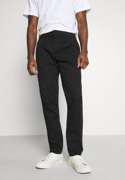 TOM TAILOR DENIM - SOLID STRETCH - Chinot - black