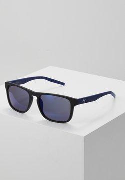 Puma - Gafas de sol - black/blue